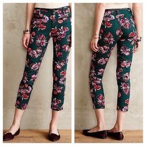 Cartonnier Floral Charlie Ankle Trouser Pants